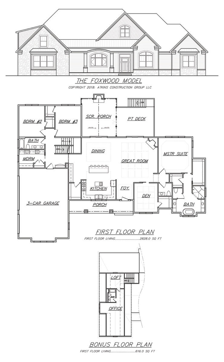 foxwood plan